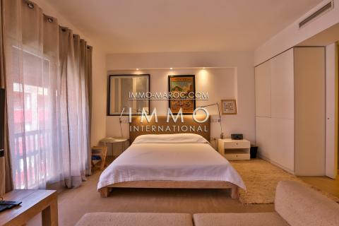 appartement contemporain centre ville Marrakech