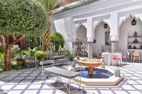 Riad à vendre maison d'hôtes Marrakech