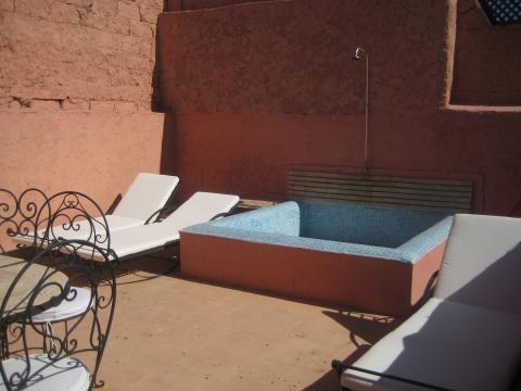 Riad à vendre Marocain épuré Marrakech moins de 10 minutes de la place Kasbah