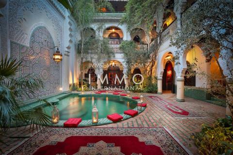 achat riad Maison d'hôtes Marrakech Place Jamaa El Fna