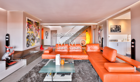 Vente appartement luxe contemporain Marrakech