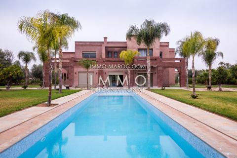 Villa à louer Contemporain Marrakech Palmeraie