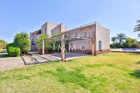 Villa à louer Contemporain Marrakech Palmeraie Bab Atlas