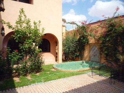 Vente villa Marrakech programme neuf Palmeraie