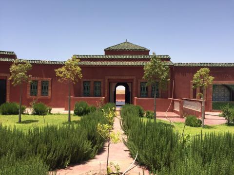 Vente villa Marocain épuré Marrakech Extérieur Route Ourika