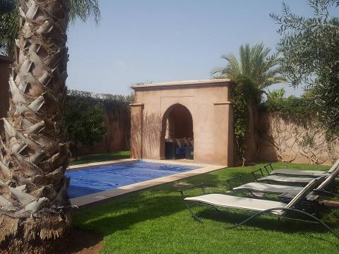 Vente villa Marocain Marrakech Extérieur Route Ouarzazate