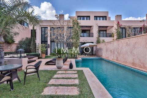 Vente villa Moderne Marrakech Golfs