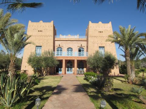 Vente maison Marocain épuré Marrakech Extérieur Route Ourika