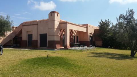 villa vente Contemporain immobilier luxe à vendre marrakech Marrakech Extérieur Route Fes