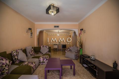 Appartement à vendre Marocain épuré Marrakech Centre ville Majorelle