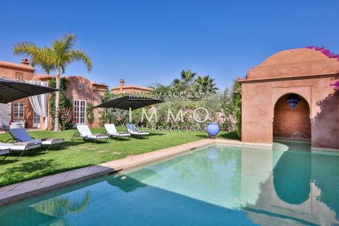 vente villa complexe securisé Marrakech