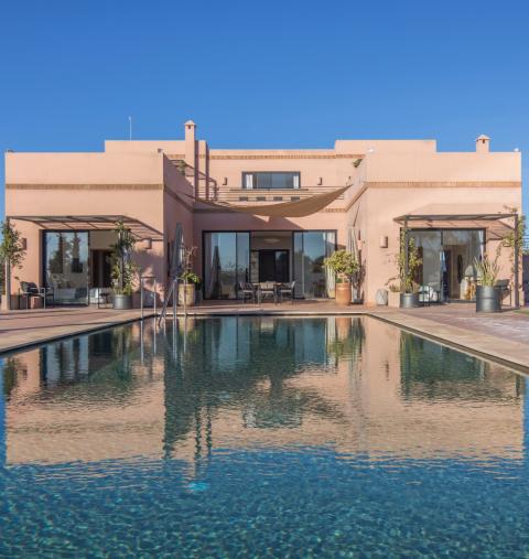 Vente maison Marocain épuré Marrakech Extérieur Route Fes