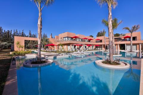 Vente maison Moderne immobilier de luxe marrakech Marrakech Palmeraie Palmariva – Dar tounsi