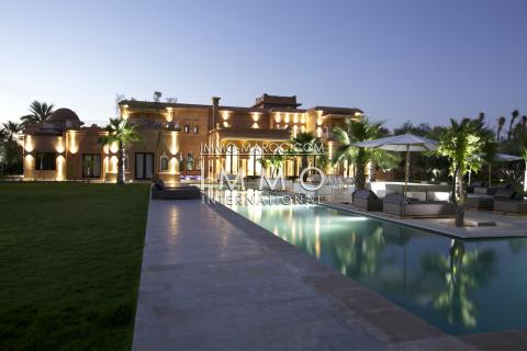 Achat villa Marocain épuré haut de gamme Marrakech