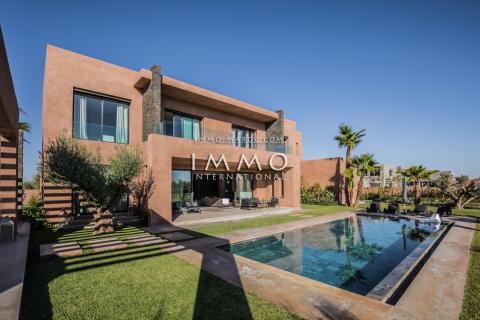 Vente maison Moderne immobilier de luxe marrakech Marrakech Golfs Amelkis