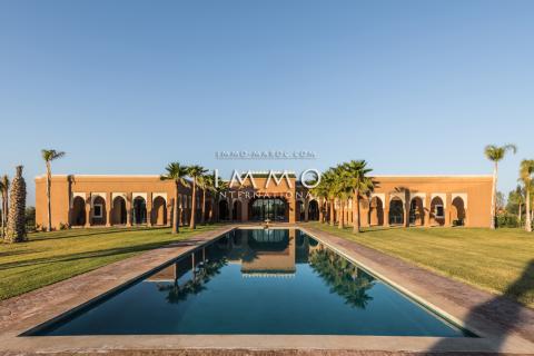 villa achat Marocain Marrakech