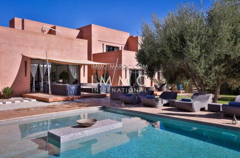 Achat villa Contemporain de prestige Marrakech Palmeraie