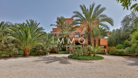 Maison à vendre Marocain Marrakech Palmeraie Bab Atlas
