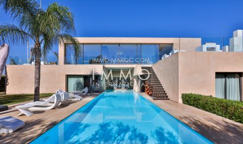 Maison à vendre Contemporain luxueuses Marrakech Golfs Amelkis