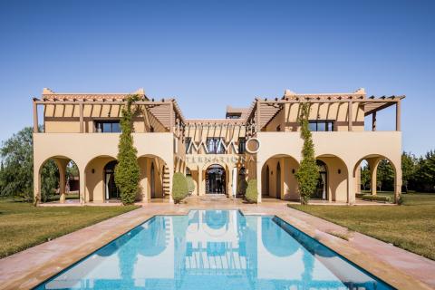 villa achat Marocain propriete luxe marrakech à vendre Marrakech Extérieur Route Amizmiz