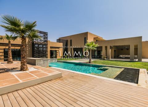 Vente villa Moderne Marrakech Golfs Amelkis