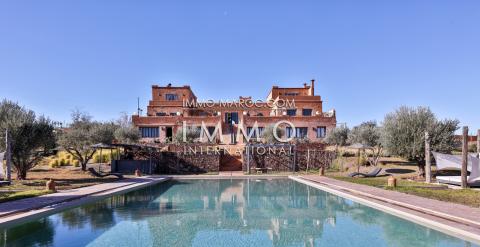 Villa à vendre Marocain épuré Marrakech Extérieur Route Amizmiz