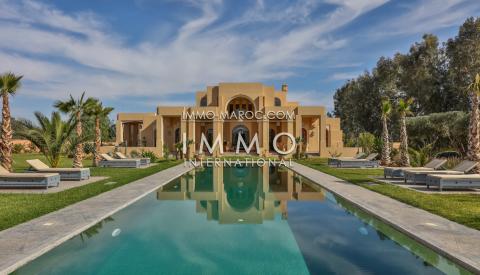 Vente maison Prestige Marrakech Extérieur Route Ourika