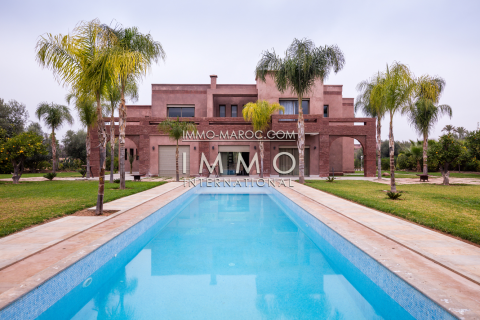Vente maison Contemporain haut de gamme Marrakech Palmeraie Circuit Palmeraie