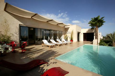 Vente villa Marocain luxe Marrakech Golfs Amelkis