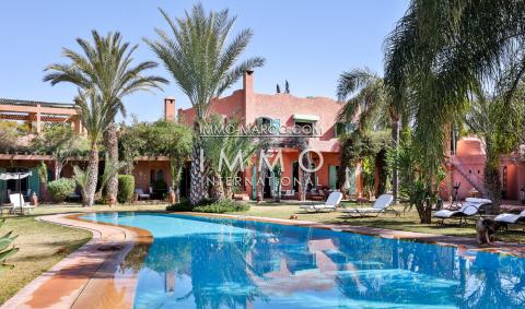 Villa à vendre Marocain prestige Marrakech Extérieur Route Fes