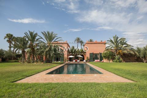Maison à vendre Marocain luxueuses Marrakech Palmeraie Bab Atlas