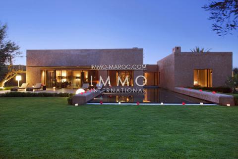 Villa à vendre Contemporain Prestige Marrakech Golfs