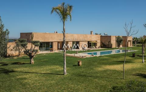 Vente maison Contemporain immobilier luxe à vendre marrakech Marrakech Extérieur Route Amizmiz