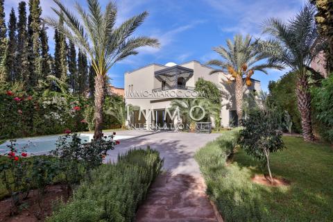 Villa à vendre Contemporain Marrakech Extérieur Ecole américaine