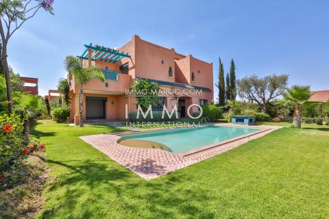 Villa à vendre Moderne Marrakech Palmeraie Bab Atlas