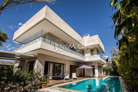 Vente villa Contemporain Marrakech Golfs Amelkis