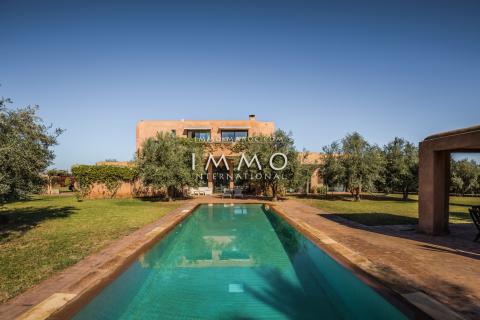 Maison à vendre Contemporain Marrakech Extérieur Route Ourika