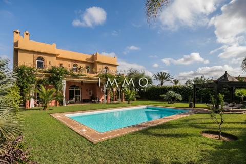 villa achat Marocain agence immobiliere de luxe marrakech Marrakech Golfs Amelkis