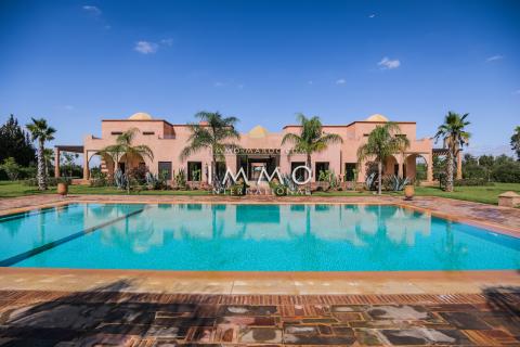 Maison à vendre Marocain immobilier de luxe marrakech Marrakech Extérieur Ecole américaine