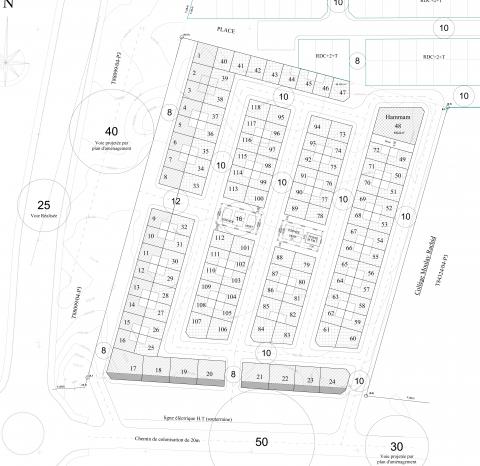 achat terrain Zone Immeuble Marrakech Centre ville Targa