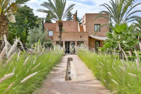 Villa à vendre Moderne Marrakech Extérieur Route Fes