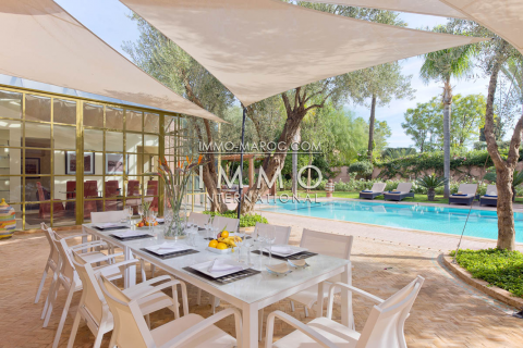 Vente villa Marocain épuré Prestige Marrakech Golfs Amelkis