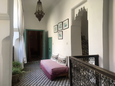 ryad garage Marrakech moins de 10 minutes de la place Riad Laarous