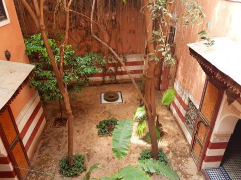 ryad Marocain Marrakech Place Jamaa El Fna Ksour