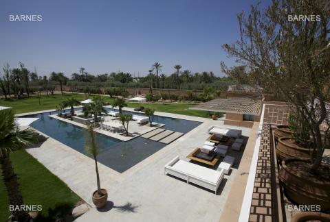 Villa à louer immobilier de luxe marrakech Marrakech