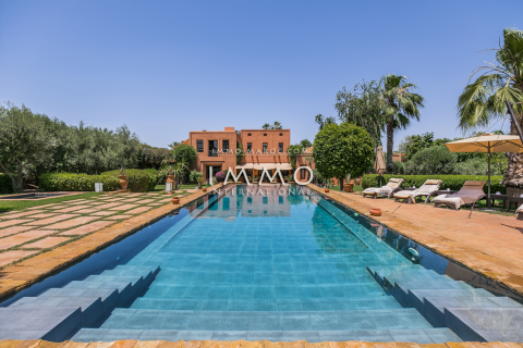 Villa à vendre Marocain épuré luxueuses Marrakech