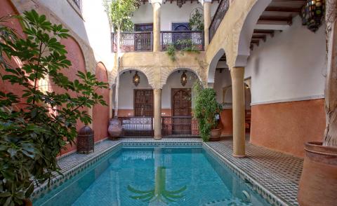 Riad à vendre Prestige Maison d'hôtes Marrakech Place Jamaa El Fna Dabachi
