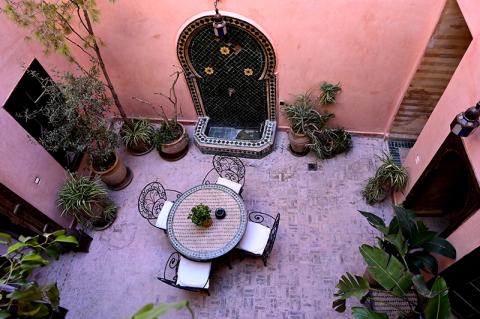 Riad à vendre Marocain Marrakech Place Jamaa El Fna Riad Zitoun