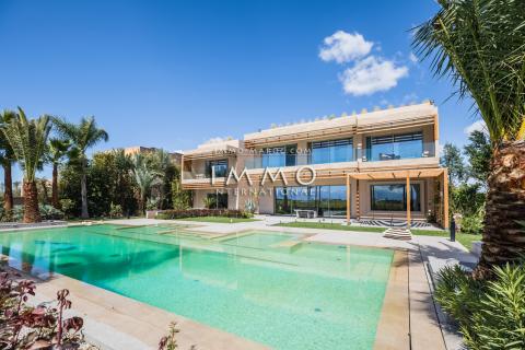 villa vente Contemporain luxueuses Marrakech Golfs Amelkis