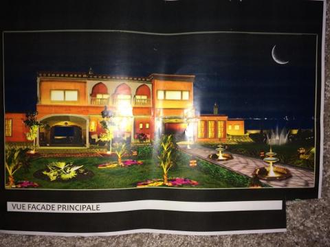 Vente villa immobilier de luxe marrakech Maison d'hôtes Marrakech Extérieur Route Ourika